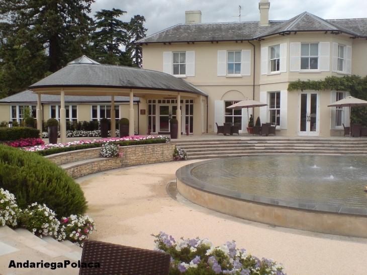 Vineyard at Stockross,Newbury, Anglia/el hotel dónde trabajaba en Inglaterra