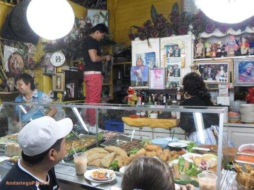 Gastronomia local al mercado en Guatemala/ Gastronomia lokalna na targu w Gwatemali