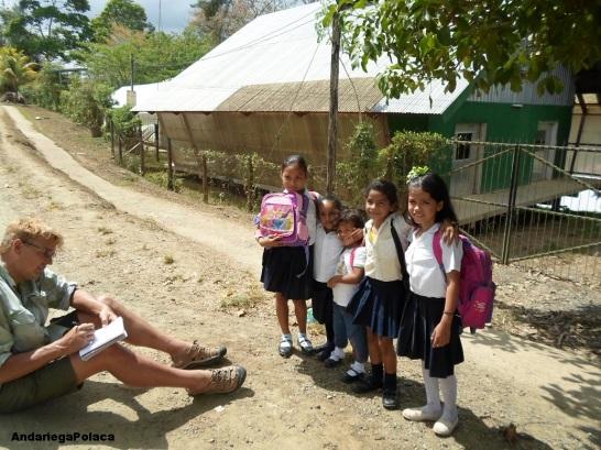 Lekcje ekologii dla dzieci w Nikaragui/Unas charlas ecologicas para los niños en Nicaragua