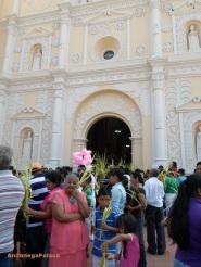 Comayagua, Honduras-Domingo de Ramos