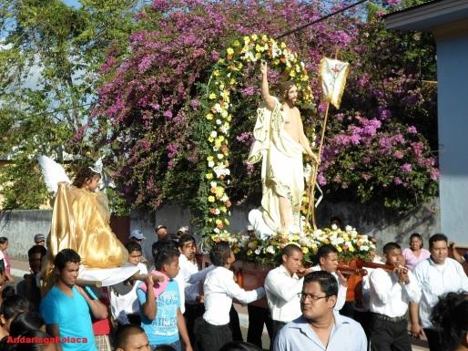 Masatepe-Nicaragua, Procesión de Resucitado
