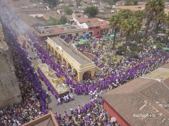 Antigua Guatemala- procesión