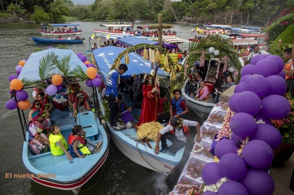 Via Crusis al lago Cocibolca, Nicaragua